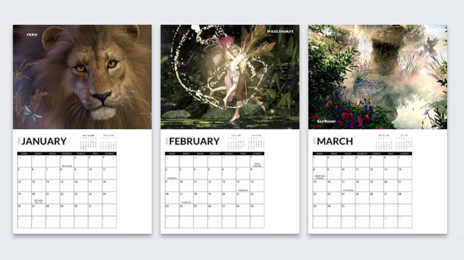 Community Calendar Preview