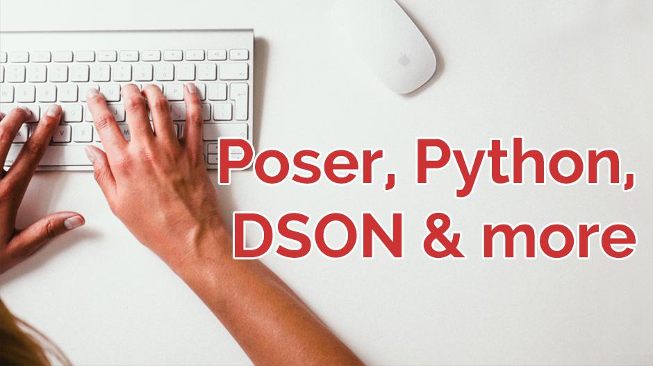 Poser, Python, DSON & More