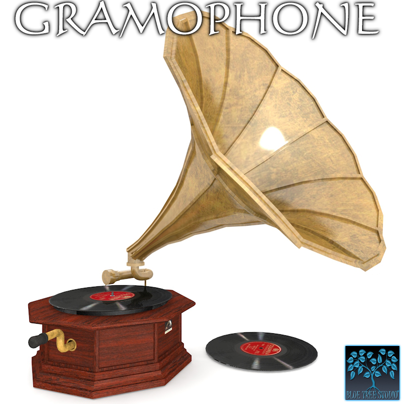 Gramophone by BlueTreeStudio