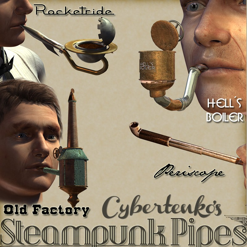 Steampunk Pipes