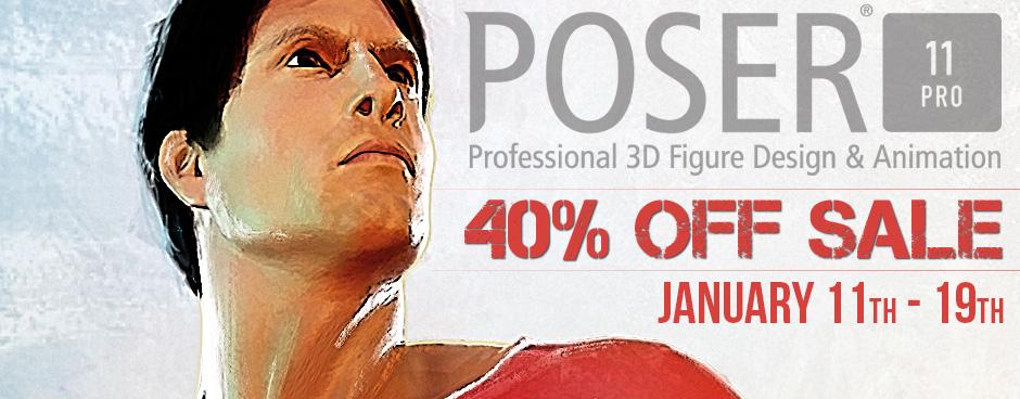 Poser Pro 11 & Upgrades Sale