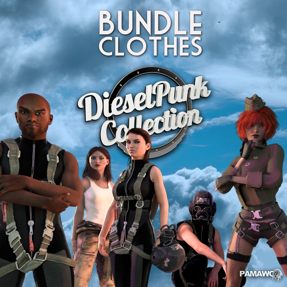Dieselpunk Collection