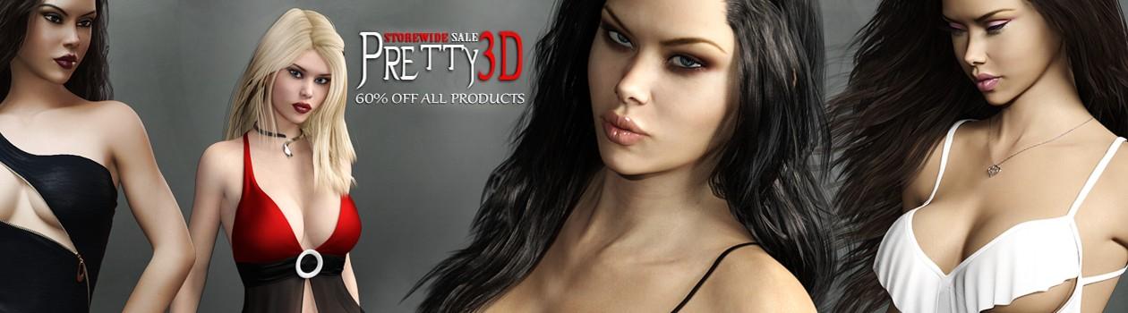 Pretty3D Sale