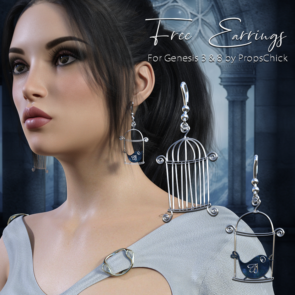 Caged Earrings