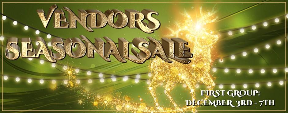 Vendors Seasonal Sale