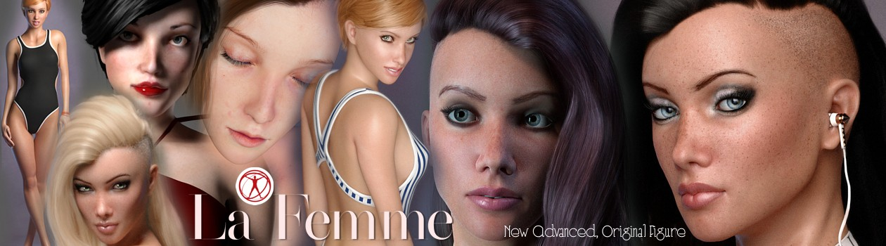La Femme for Poser 11