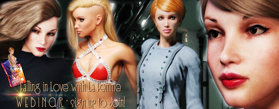 Nerd3d La Femme Webinar