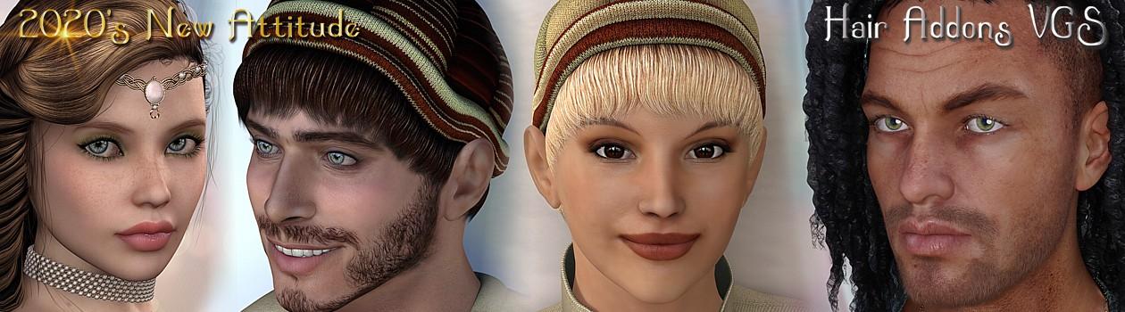 VGS-Hair Addons