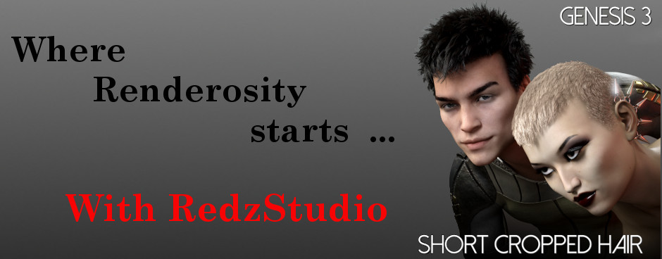 Where Renderosity Starts - RedzStudio